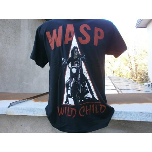 Метъл тениска WASP 05