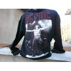 Суичерт  AC-DC тип кенгуро с джобове