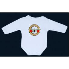 """Детско боди  и тениска с къс и дълъг ръкав G""""N""""R"""