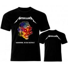 Метъл тениска  Metallica Hardwired 13