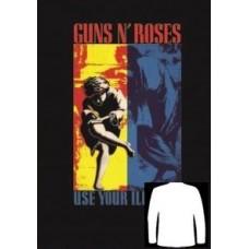Блуза  дълъг ръкав GUNS N ROSES