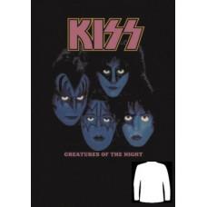 Блуза  дълъг ръкав KISS