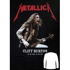 Блуза  дълъг ръкав METALLICA