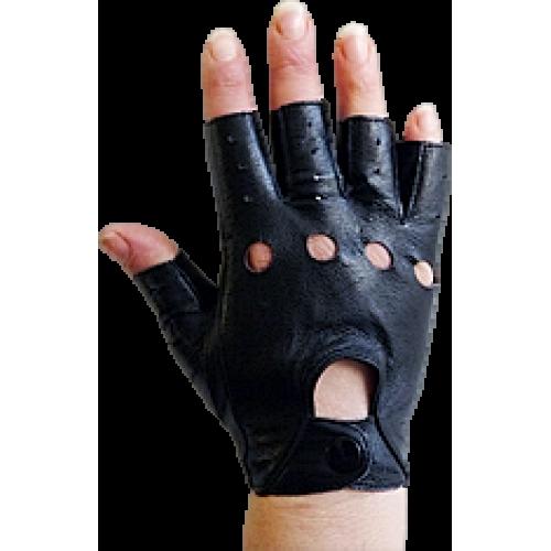Ръкавици без пръсти-кожа дамски  модели