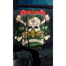 Метъл тениска  Мetallica covid-19