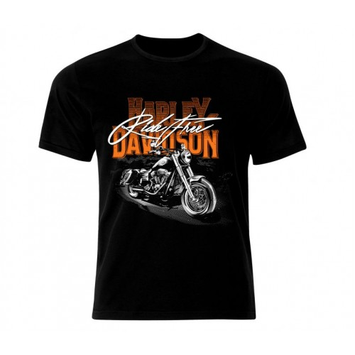 Ефектна тениска Harley Davidson 988
