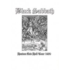 Метъл тениска Black sabbath бяла