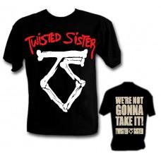 Метъл тениска TWISTED SISTER LOGO 963