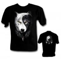 Ефектна тениска Вълк 982