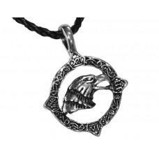 Медальон глава на орел в кръгъл обков 3027