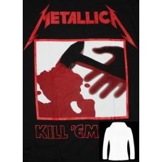Метъл суичър  Metallica 3 с цип