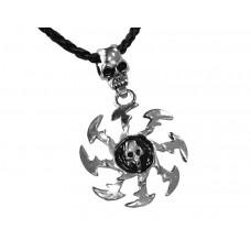 Медальон череп 3039