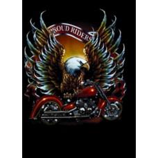 Ефектна тениска Motorcycle proud rider s
