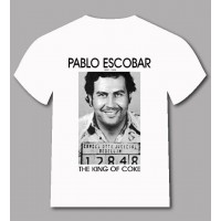 Ефектна тениска Pablo Escobar