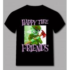 Ефектна тениска зеленото човече с брадвата