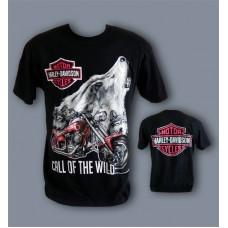 Тениска HARLEY DAVIDSON с Вълци-755