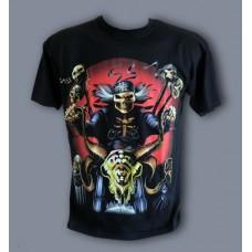 Тениска Скелет рокер  846